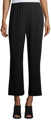 Caroline Rose Plus Size Wide-Leg Ankle Pants