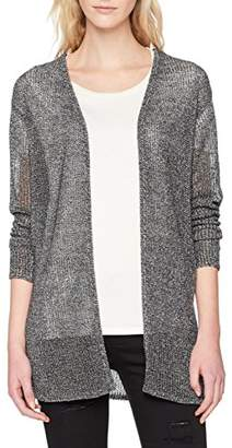 Vero Moda Women's Vmrylia Ls Open Cardigan,(Manufacturer Size: Large)