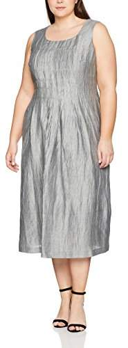 Ulla Popken Women's Kleid Mit Falten Dress