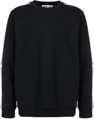 McQ logo embroidered sweatshirt