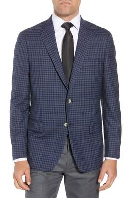 Hart Schaffner Marx Classic Fit Stretch Check Wool Sport Coat
