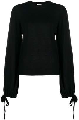 P.A.R.O.S.H. tie sleeve lightweight sweater