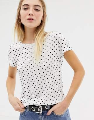 Only Arli Polka Dot T-shirt
