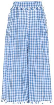 Dodo Bar Or Gingham cotton pants