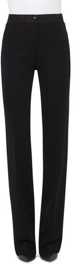 AkrisAkris Carla Wide-Leg Pants, Black