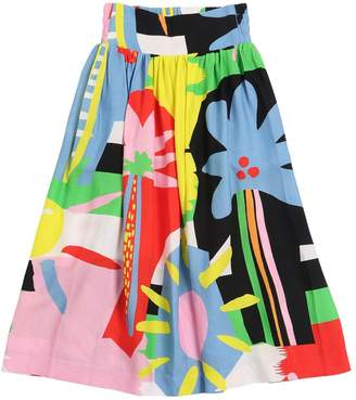 Stella McCartney Printed Viscose Crepe Maxi Skirt