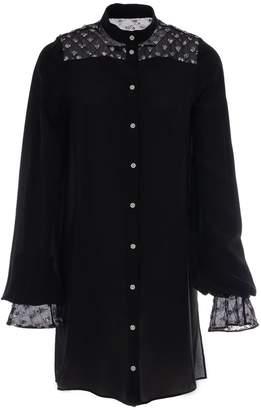 Adelina RUSU - Silk CrÃape-De-Chine Shirt Dress