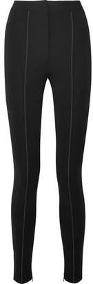 Altuzarra Mead Crepe Skinny Pants - Black