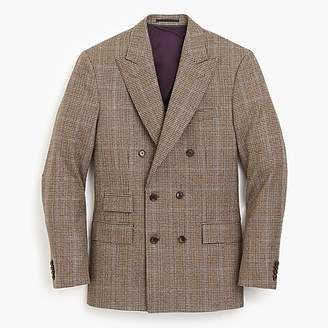 J.Crew Paul FeigTM for peak-lapel suit jacket in check