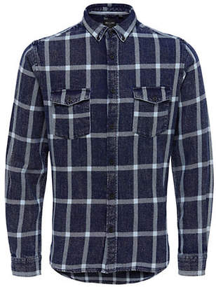 ONLY & SONS Cotton Checked Shirt