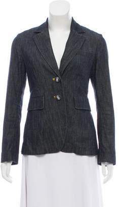 Femme by Michele Rossi Denim Structured Blazer