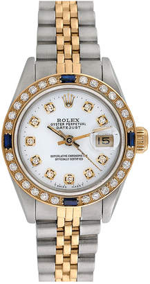 Rolex Heritage  1980S Women's Datejust Diamond Watch