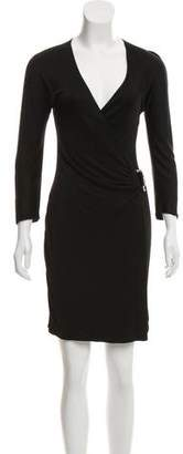 Gucci V-Neck Knee-Length Dress
