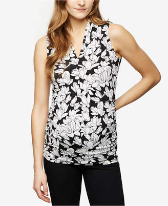 A Pea in the Pod Maternity Floral-Print Top