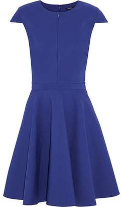 Raoul Flared Pleated Cotton-Blend Dress