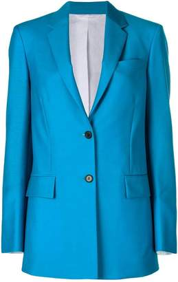 Calvin Klein tailored longline blazer