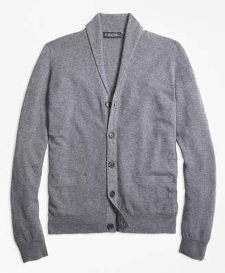 Brooks Brothers Cashmere Shawl Collar Cardigan