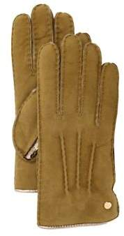 UGG Classic Leather and Shearling Sheepskin Gloves
