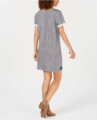 Style&Co. Style & Co French-Terry Lace-Up Dress, Created for Macy's