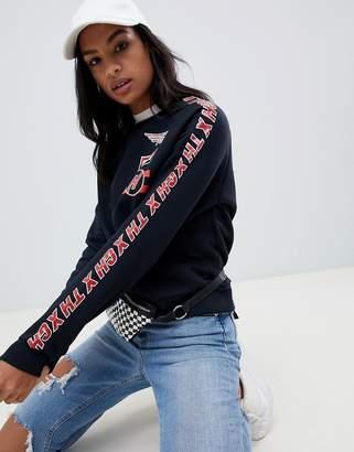 Tommy Hilfiger (トミー ヒルフィガー) - Tommy Hilfiger X Gigi Hadid Team printed sweatshirt