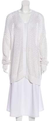 360 Sweater Open Front Long Sleeve Cardigan