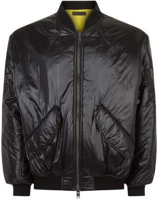 Haider Ackermann Oversized Nylon Bomber Jacket