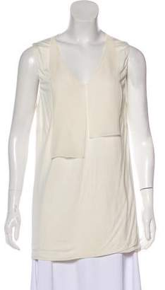 Akris Punto Sleeveless V-Neck Tunic