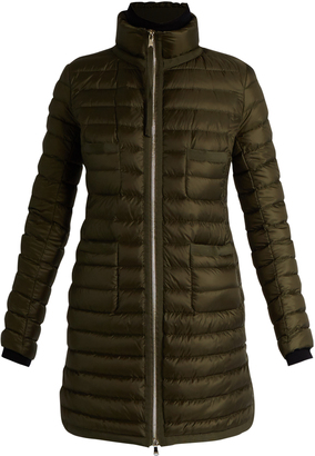 MONCLER Bogue quilted down coat $1,095 thestylecure.com