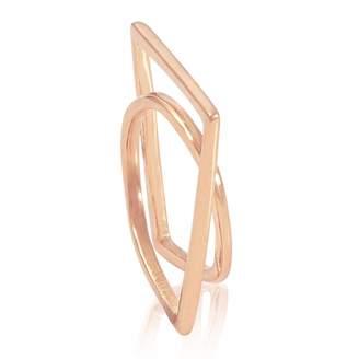 Neola - Engima Rose Gold Ring