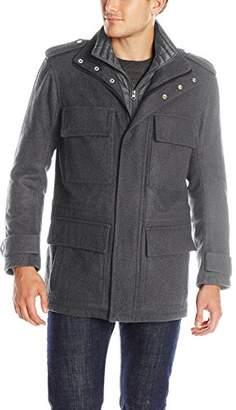 Andrew Marc Men's Libert Wool Four-Pocket Coat