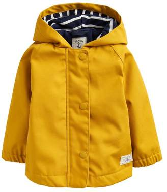 Joules Girls Coast Raincoat - Yellow