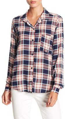 Lush Plaid Button Down Shirt