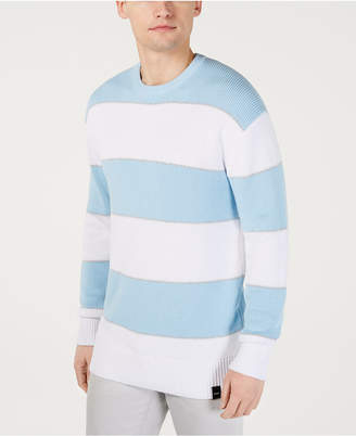 DKNY Men Ombre Rugby Stripe Sweater