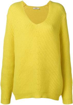 Odeeh oversized v-neck jumper