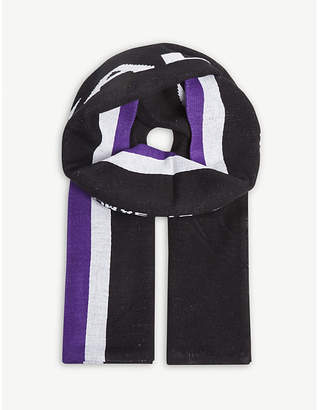 A-Cold-Wall* Oversized stripe logo scarf