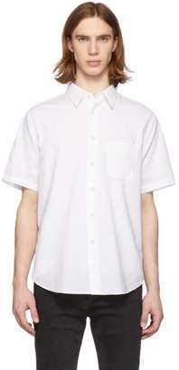 Rag & Bone White Fit 3 Short Sleeve Shirt
