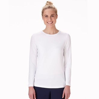 Jockey Women's Scrubs Performance RX Dry Comfort Long Sleeve Tee