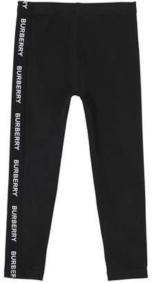 Burberry Krista Logo Stretch Leggings, Size 3-14