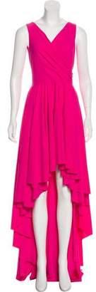 Chiara Boni Draped Evening Dress