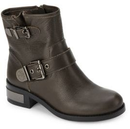 Wydell Leather Ankle Boots $169 thestylecure.com