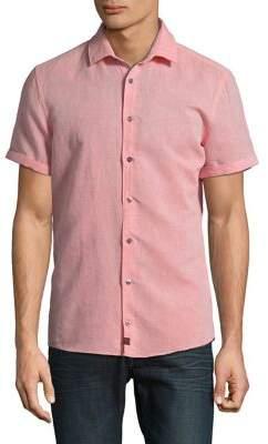 Strellson Caspar Short-Sleeve Button-Down Shirt