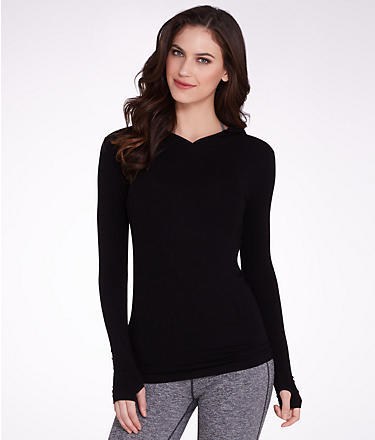 Free People Hooded Pullover Top