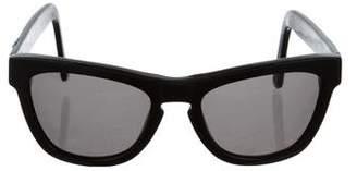 Westward Leaning Westward\\Leaning Embellished Wayfarer Sunglasses