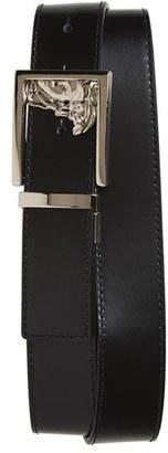 Men's Versace Medusa Leather Belt $225 thestylecure.com