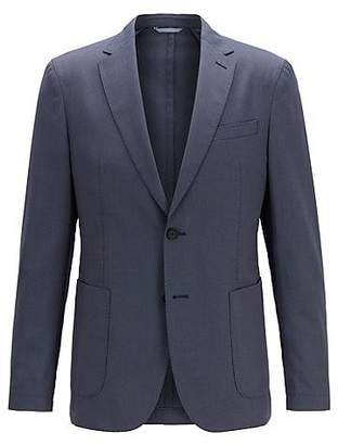 HUGO BOSS Travel Line slim-fit jacket in a washable fabric