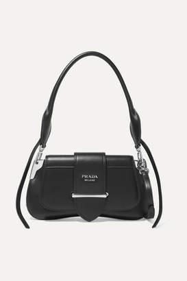 Prada Sidonie Leather Shoulder Bag - Black 3135eb2f41026