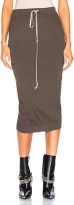 Rick Owens Soft Short Pillar Skirt
