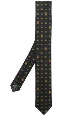 Dolce & Gabbana monogram crown & crest tie