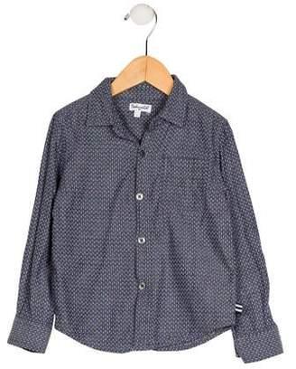 Splendid Girls' Long Sleeve Button-Up Top