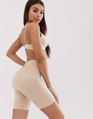 Spanx Suit Your Fancy Butt Enhancer shaping shorts in natural glam